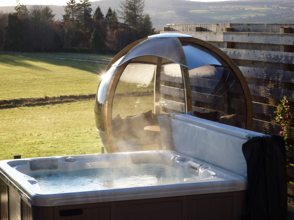 Luxury Lodges With Hot Tubs Scotland Inverness